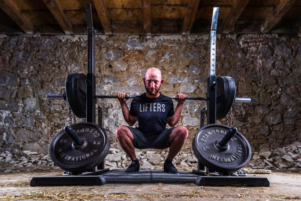 kroftstodl kniebeuge squat
