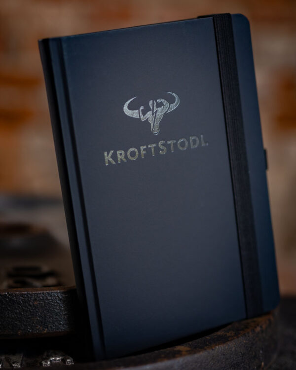 kroftstodl notizbuch trainingsbuch